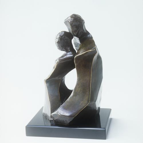 Thumb titre  ferveur  anne e de cre ation  1988 dimensions  19.5 x 12 x 11 cm   matie re  bronze prix  30 000     monument  3 me tres    existe aussi en 1 me tre de hauteur