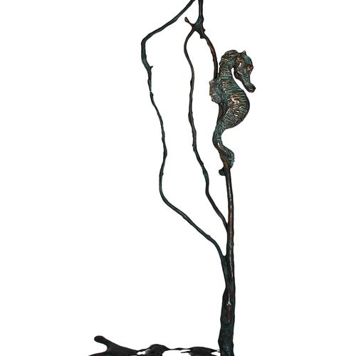 Thumb hippocampus  30x20x15  bronze patin   novembre 2016  pi ce unique 2kg 2000 euros