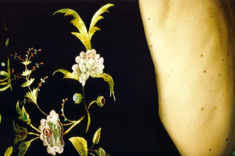 Large 119 au temps des fleurs . printemps 2001 by herve saint helier