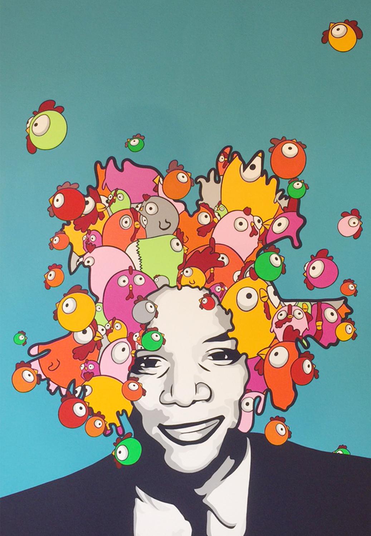 Large basquiat forever  190 137 cm  40 000 hkd