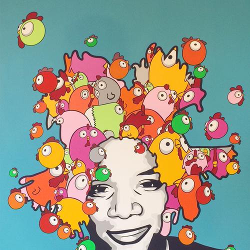Thumb basquiat forever  190 137 cm  40 000 hkd