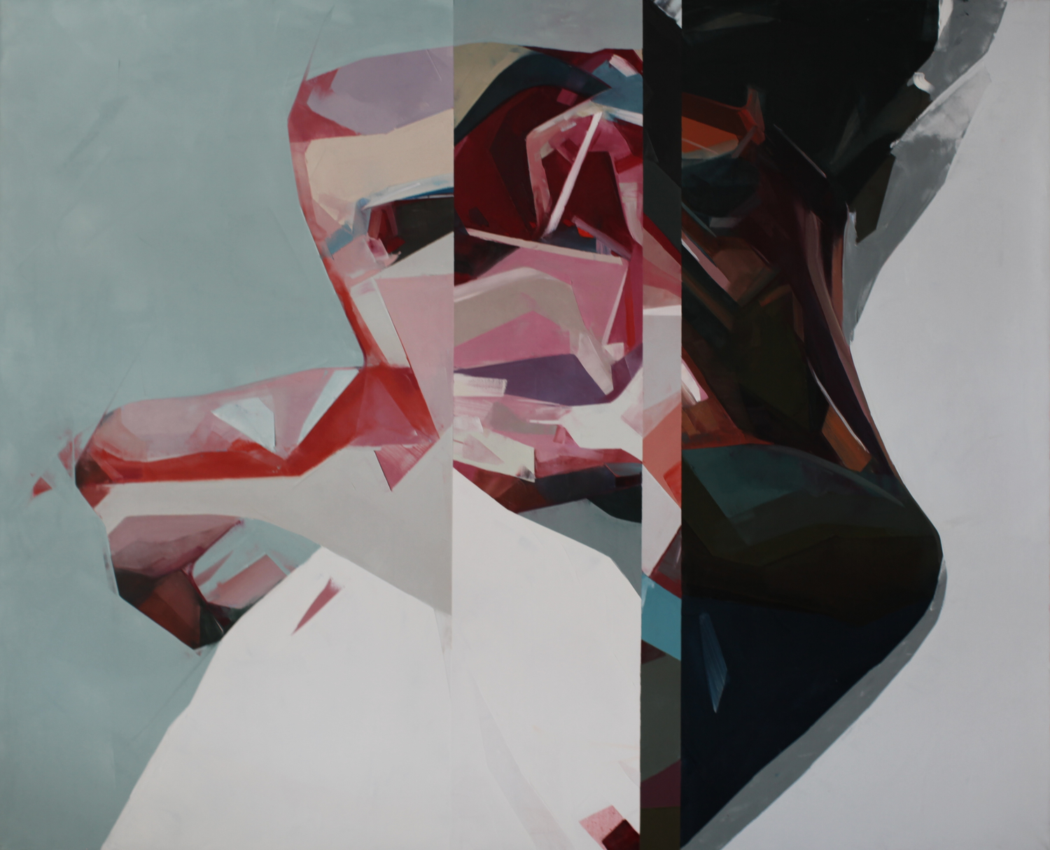 Large simon birch artist heavytomorrowlightningcracker 176x215cm 2014