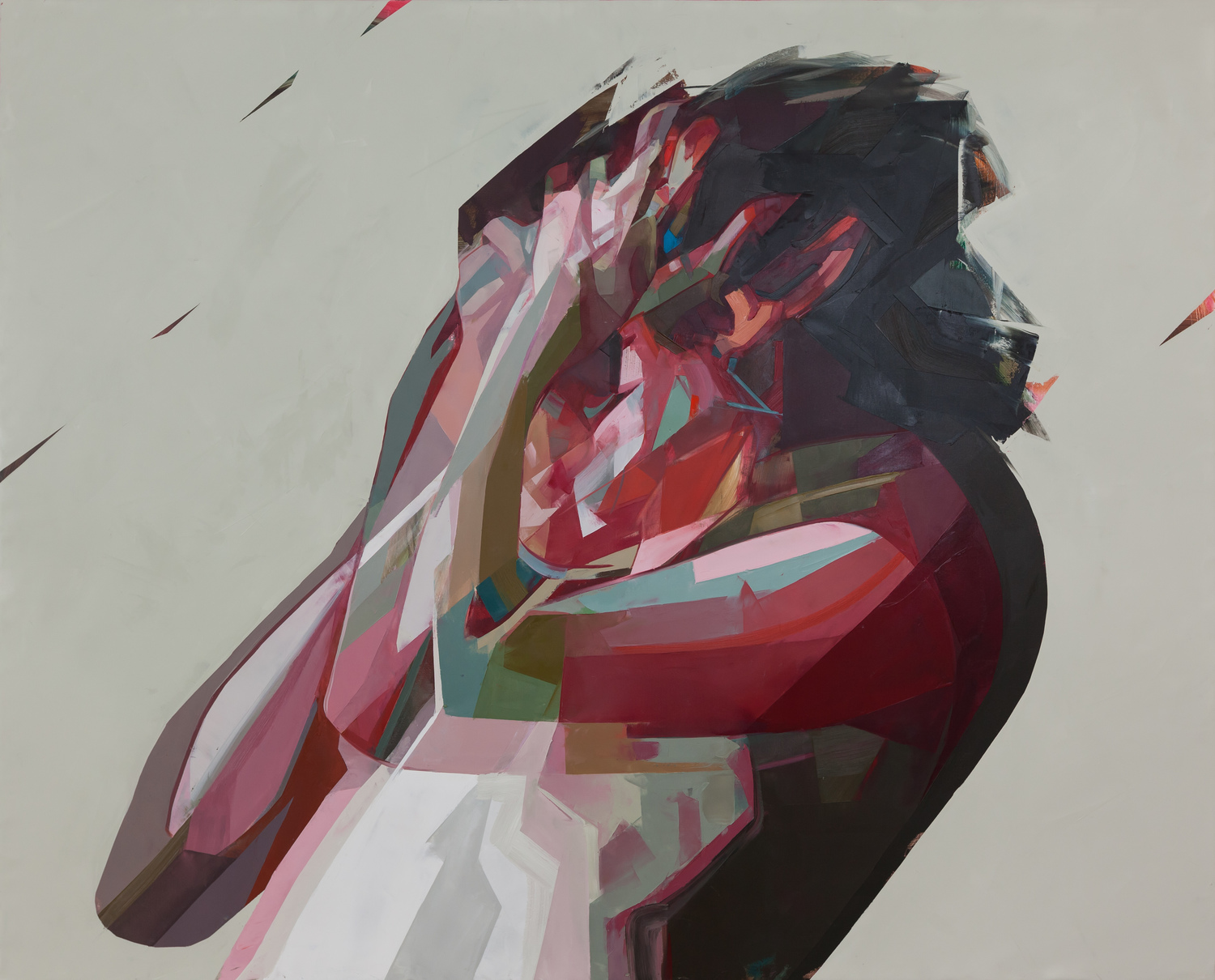 Large simon birch artist theskywasaquamarine 216x267cm 2015